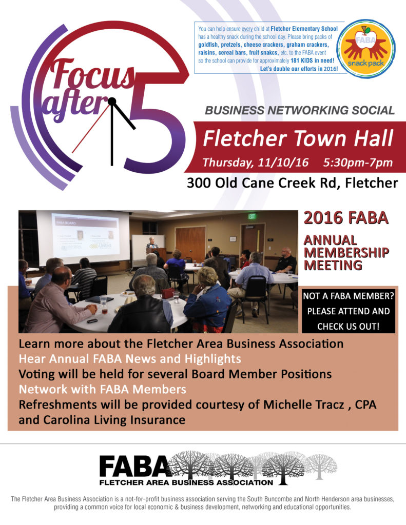 FABA Annual Meeting 2016